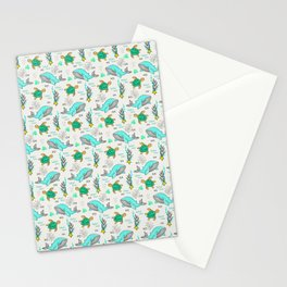 Beauty of the Ocean (Pattern) Stationery Cards