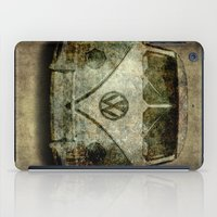 vw bus iPad Cases featuring VW Micro Bus  by BruceStanfieldArtist illustrator