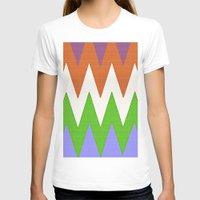 chevron T-shirts featuring Chevron by Saundra Myles