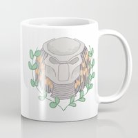 predator Mugs featuring Predator by Boring Palace