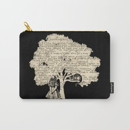 Alice In Wonderland Vintage Book Carry-All Pouch