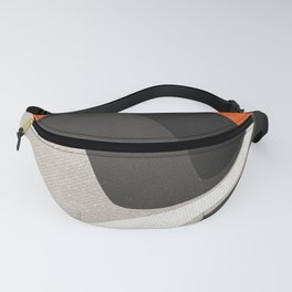 Abstract orange shapes Fanny Pack