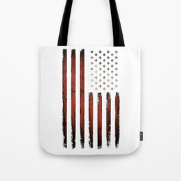 American flag Stars & stripes Tote Bag