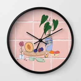 Canteloup Wall Clock