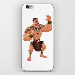 Maori Warrior iPhone Skin