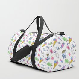 Birthday party candy art Duffle Bag