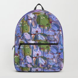 Woof Pack—Crowd of Dogs Backpack