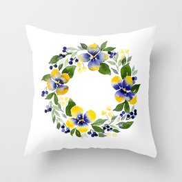 You're Such A Pansy Throw Pillow