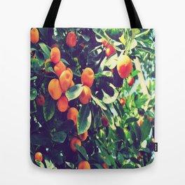 Orange fantasy Tote Bag