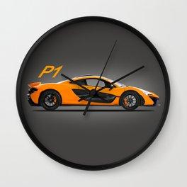 The P1 Supercar Wall Clock