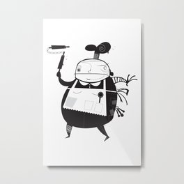 The Baker Metal Print