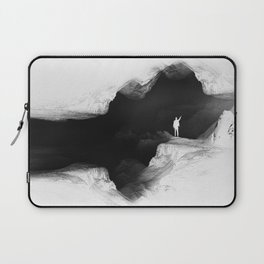 Hello from the The White World Laptop Sleeve