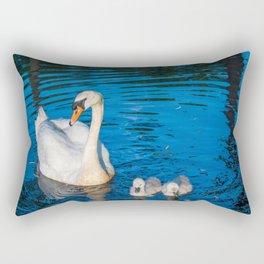 Mother Swan Rectangular Pillow