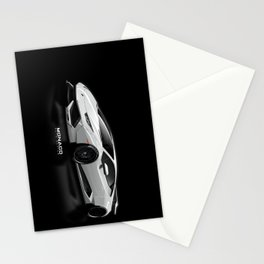 Lamborghini Huracan Widebody (vector) Stationery Cards