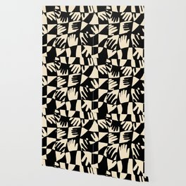 Hand Print Wallpaper