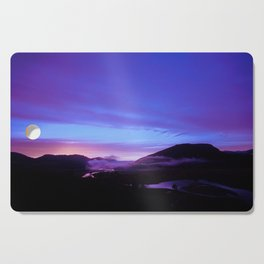 Valley Sunset Cutting Board