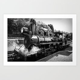 No 2 Baldwin at Brecon Art Print