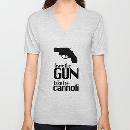 The Godfather cannoli Unisex V-Neck