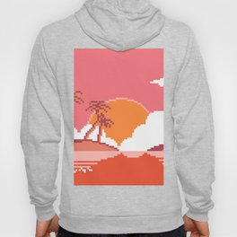 Sunset  on  Coco  Island Hoody