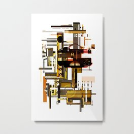 All of the noise Metal Print