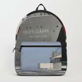 Philip R Clarke freighter Backpack