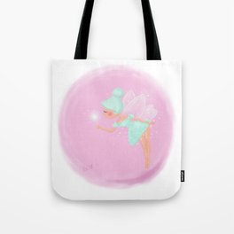 Mint Fairy Tote Bag