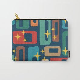 Retro Mid Century Modern Abstract Pattern 221 Carry-All Pouch