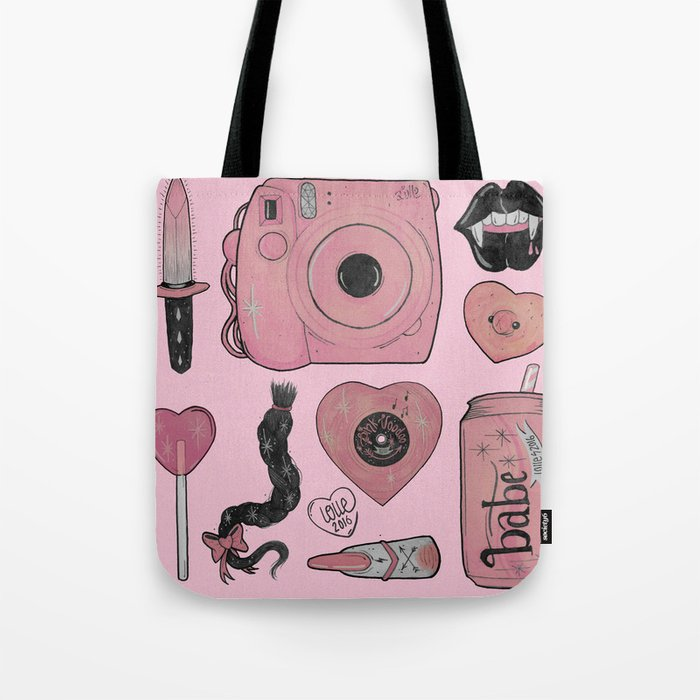 GIRLY STUFF Tote Bag