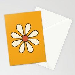 Talavera Orange Daisy Stationery Cards