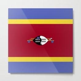 Swaziland flag emblem Metal Print