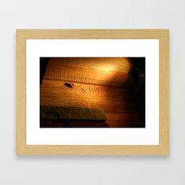 The Beam Framed Art Print