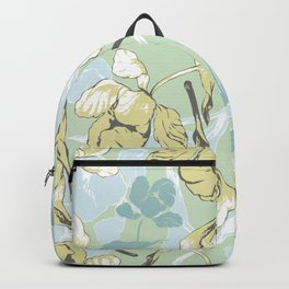Decorative flowers Backpack