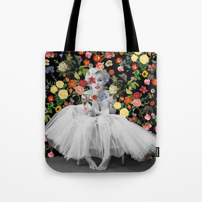 Marilyn Ballerina Tote Bag