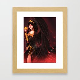 Hellenic Mythology - Eris Framed Art Print