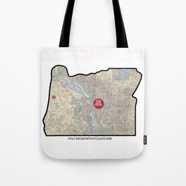 Portland, Oregon Tote Bag