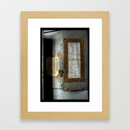 A Way of Understanding  Framed Art Print