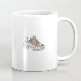 Balenciaga Triple S Sneaker Pattern Illustration Coffee Mug