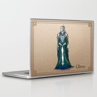 valar morghulis Laptop & iPad Skins featuring Ulmo by wolfanita