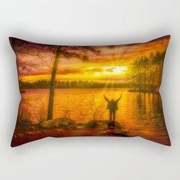 Fire! Rectangular Pillow