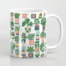 Houseplant Pattern Coffee Mug