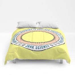 Junk Science Power Grab Comforters