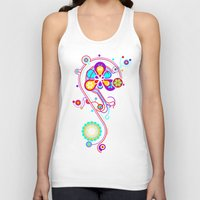 psychedelic Tank Tops featuring Psychedelic by tuditees