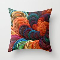 coasters Throw Pillows featuring The Coasters by ArtPrints