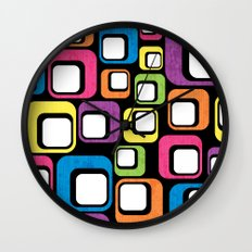 Retro All Sorts. Wall Clock
