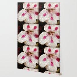 Flowers in the Summer Rain Wallpaper