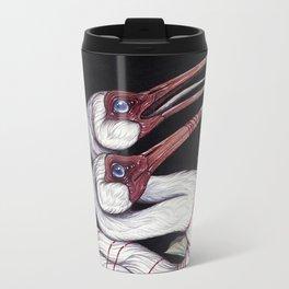 Sacred Ibis Metal Travel Mug