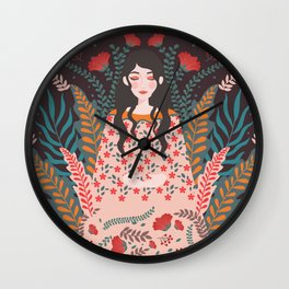Be mindful Wall Clock