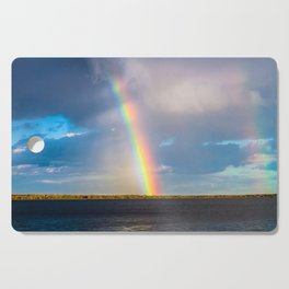 Magnificent rainbow Cutting Board