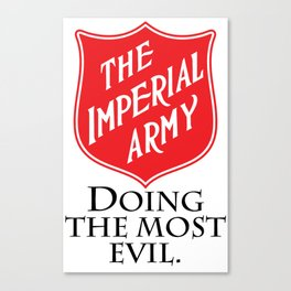 The Imperial Army Canvas Print