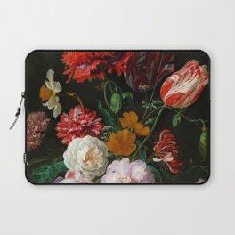 "Jan Davidsz. de Heem ""Still Life with Flowers in a Glass Vase"" Laptop Sleeve"